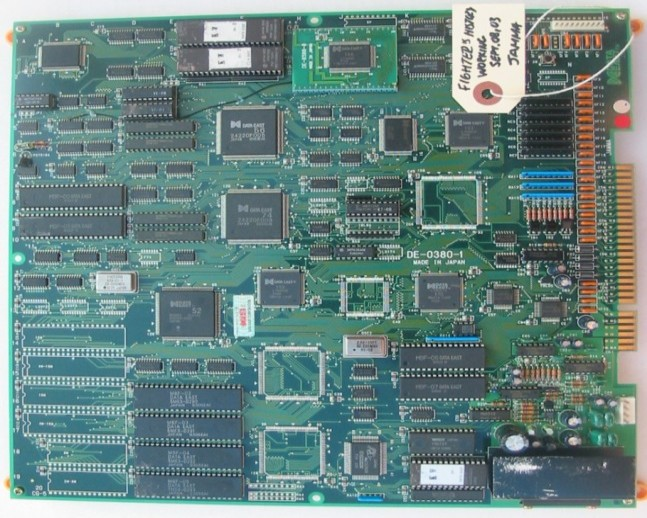 PCB Pictures: A - F (FightersHistory pcb jpg)